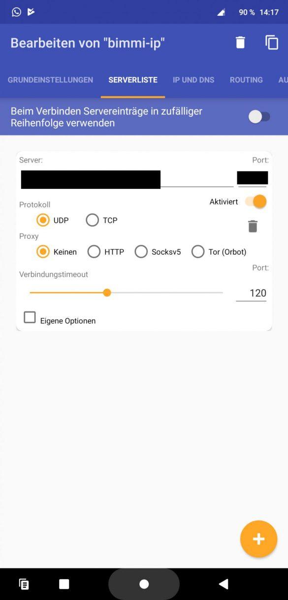 OpenVPN für Android