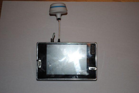 3,5″ Monitor mit integriertem 5,8 Ghz 32CH Empfänger und Scanner