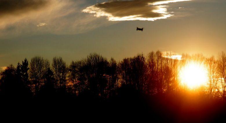 Sonnenuntergang FPV Treffen