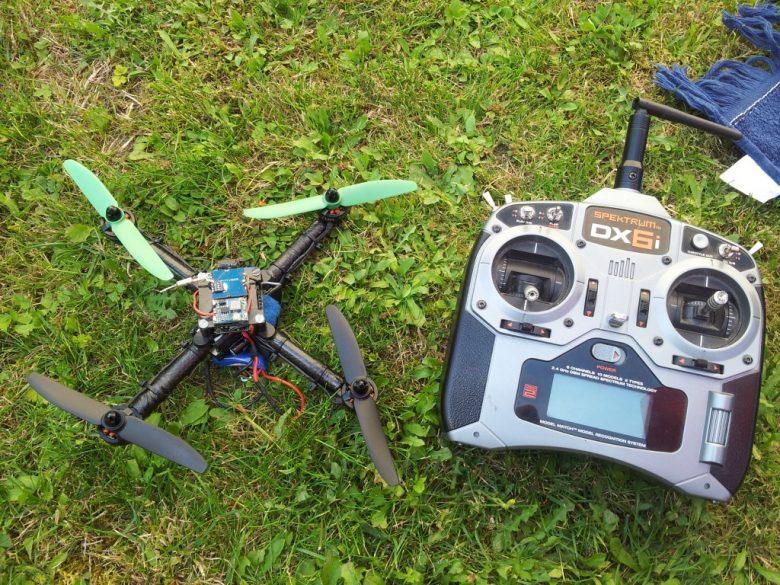 Racecopter aus Carbon