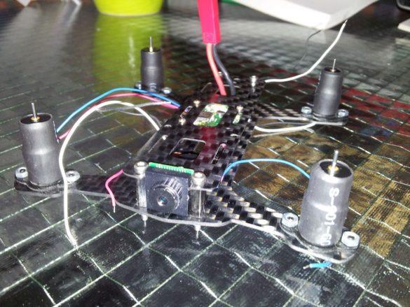 Nano Blackout H FPV Version Baubericht