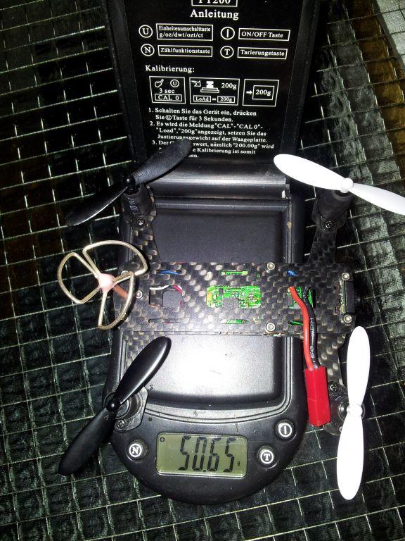 Gewicht des Blackout H