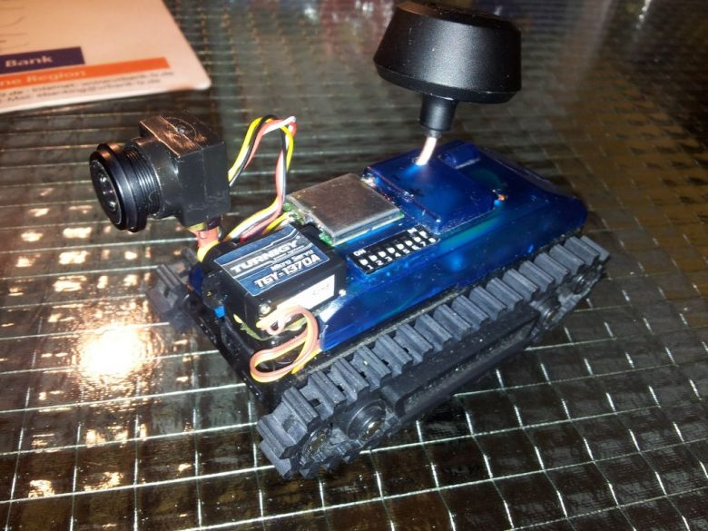 FPV Mini Deskrover