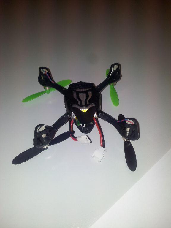 Hubsan X4 mit Multiwii FC