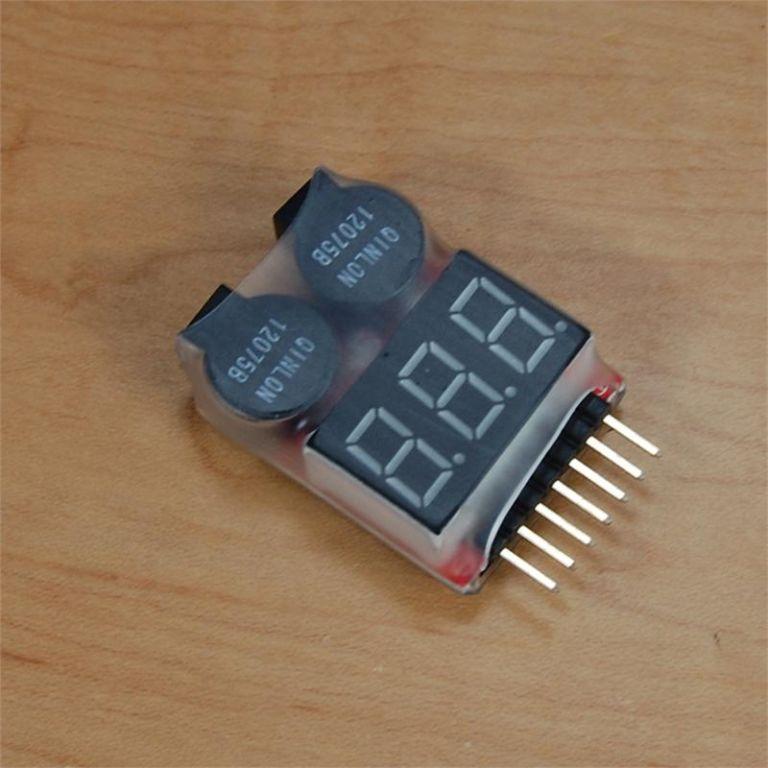 Batterie / Lipo Warner Alarm