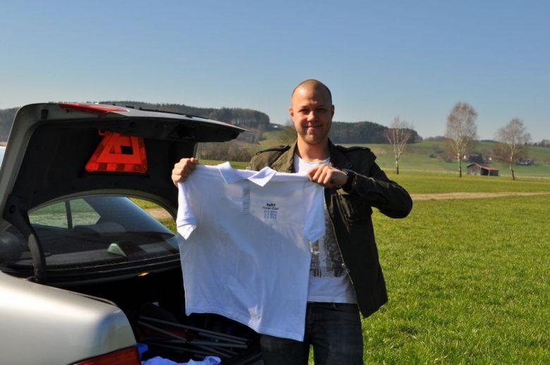 Die ersten FPV-TEAM Shirts