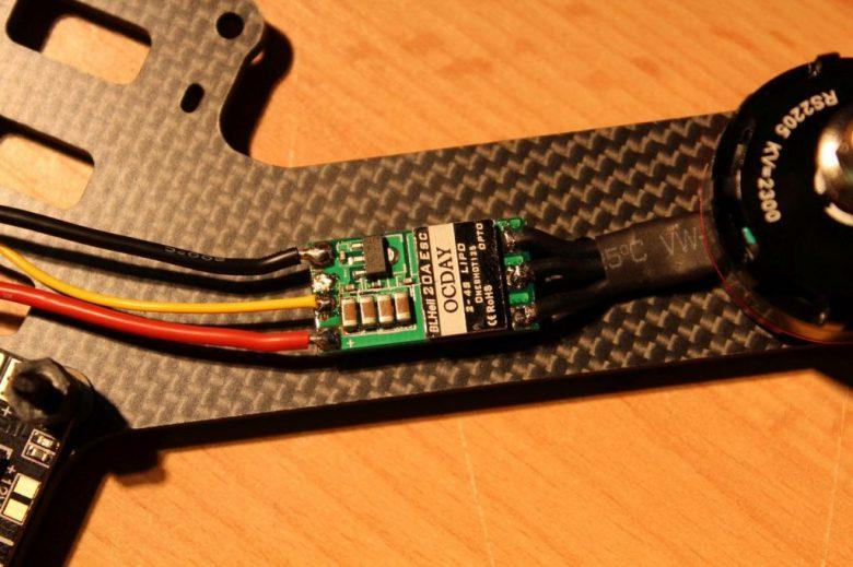 Motoren Kabel kürzen