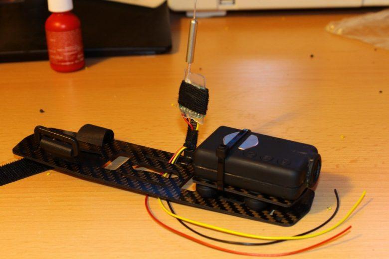 Centerplatte mit Mobius Kamera