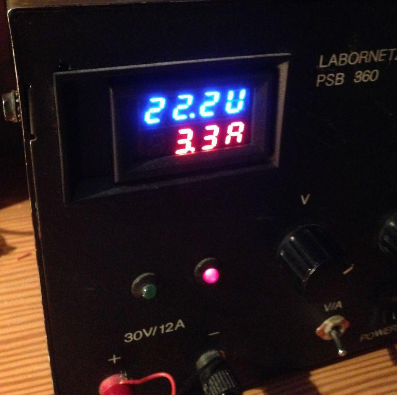 Stromverbrauch TS100
