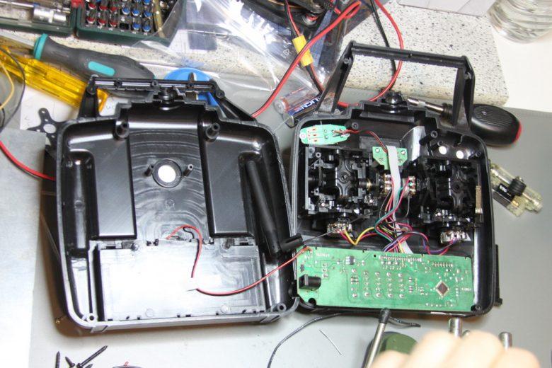 Modellcraft MT-600 Innenansicht