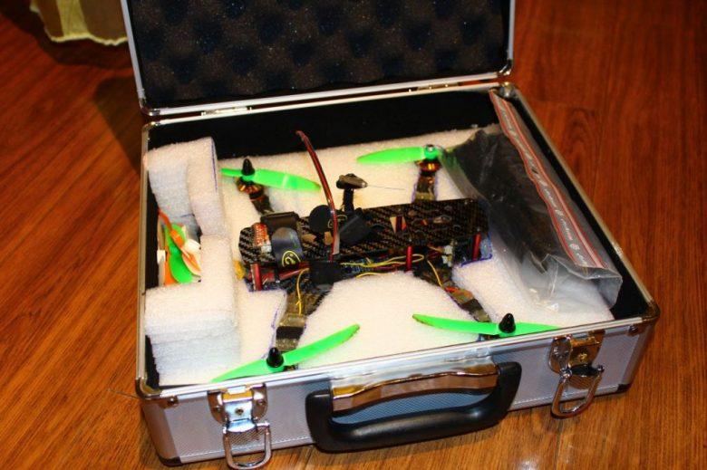 Koffer für den ZMR 250