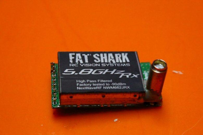 Fatshark 5.8 Ghz RX -90dBm