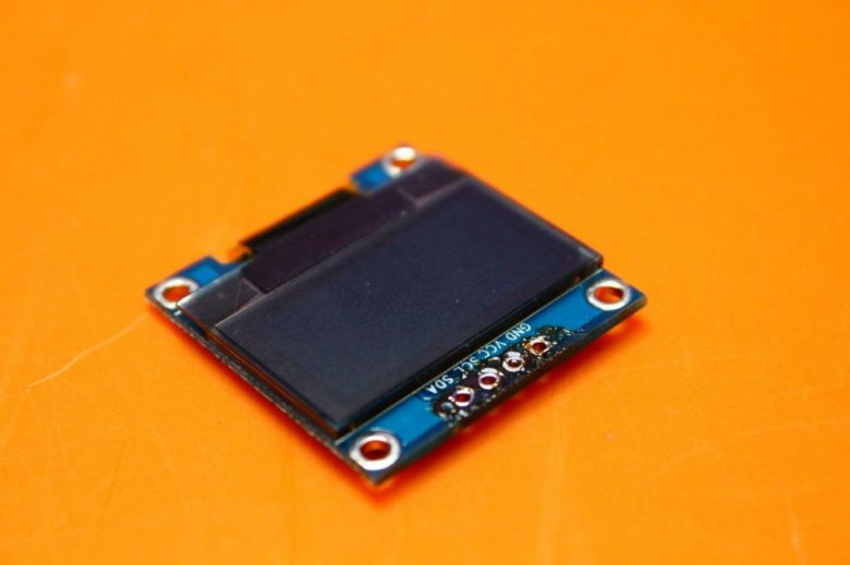 OLED ohne Pins