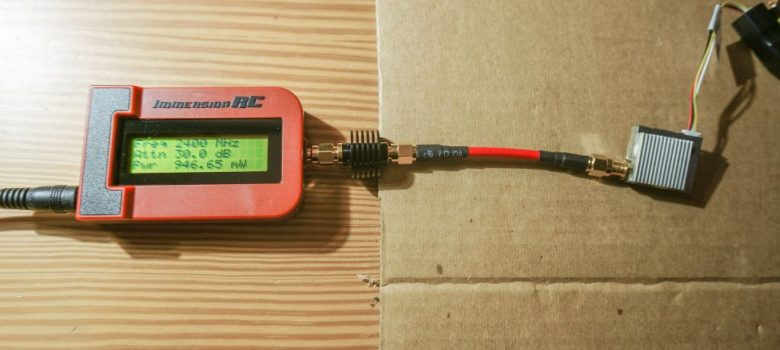 Leistungsmessung FPV Sender mit Immersion RC Power Meter