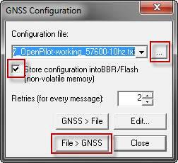 GNSS Configuration