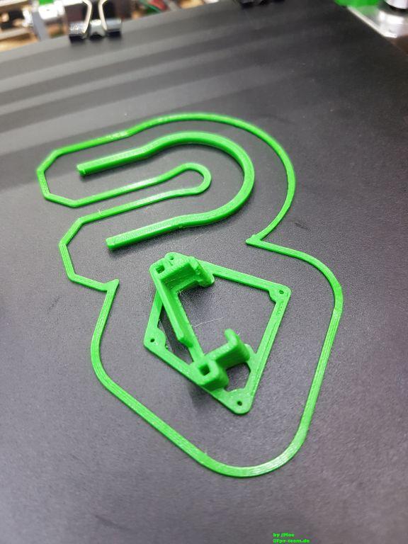 Cam Halterung aus dem 3D Drucker