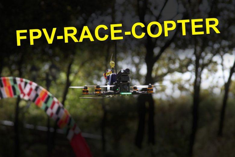 Racecopter Bauteile übersicht