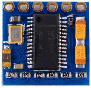 MinimOSD Micro Rückseite