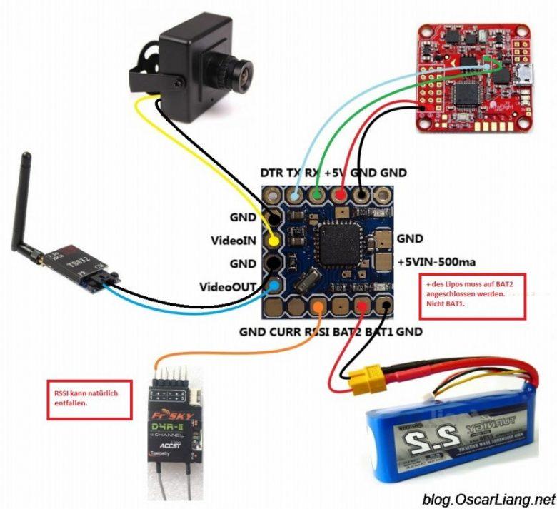 Micro Minimosd KV Team Mod – OSD - MWOSD