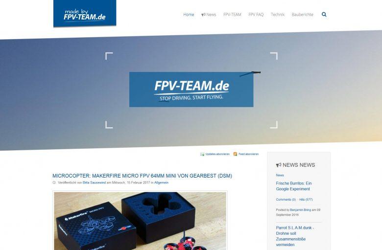 FPV-TEAM - vor 5 Jahren redesign