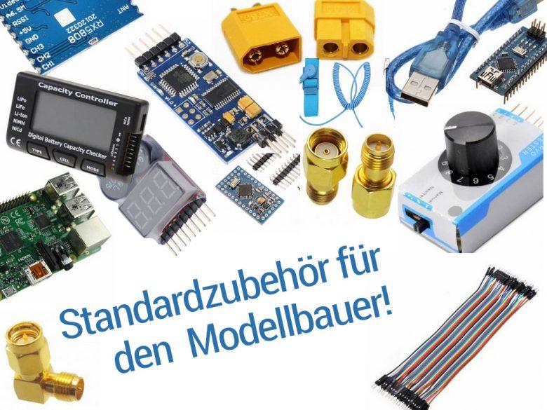 Standardausrüstung für FPV Modellbauer
