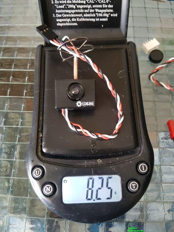 Gewicht der AIO Kamera
