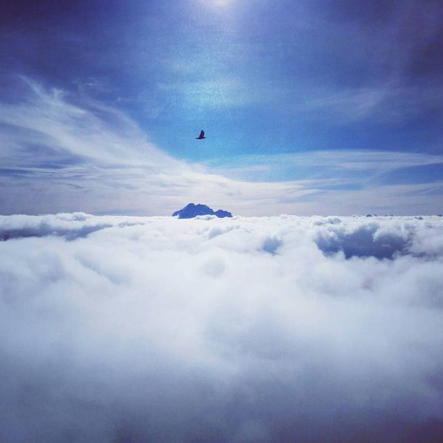 Over the clouds   STOP DRIVING START FLYING hellip
