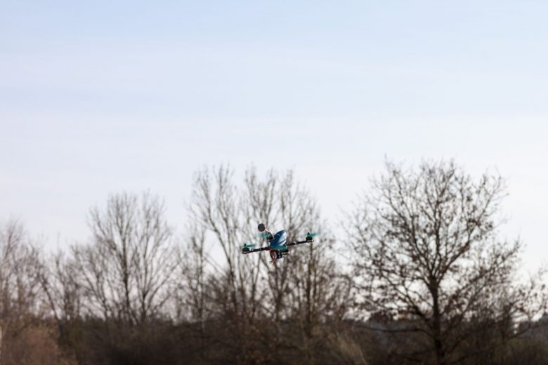 Shendrones Orca im Flug