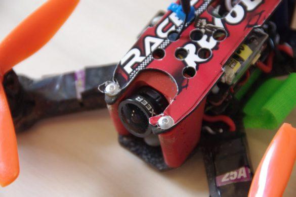 Am Racecopter Rahmen