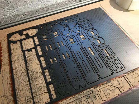 Frisch CNC gefräst