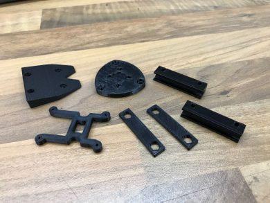 Druckteile aus dem 3D Drucker