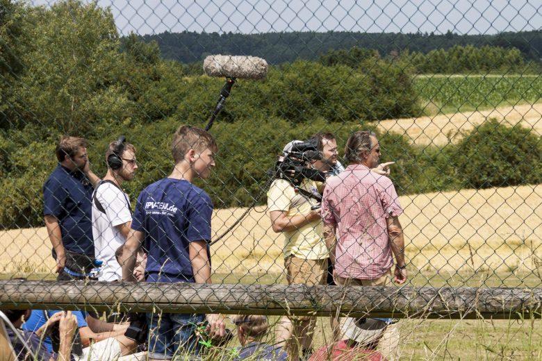 Filmteam beim FPV Treffen