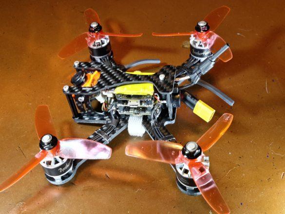Racecopter unter 250 Gramm – Der sub 250 in 3, 4 und 5 Zoll inkl. DXF!
