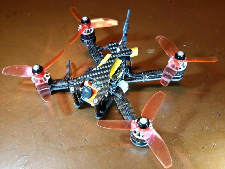 sub250 Racecopter